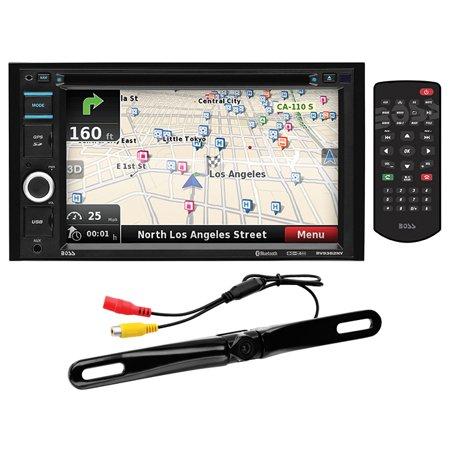 BOSS Audio BV9382NV Double Din, Touchscreen, Bluetooth, Navigation/GPS, DVD/CD/MP3/USB/SD AM/FM Car Stereo Panavise Car Audio
