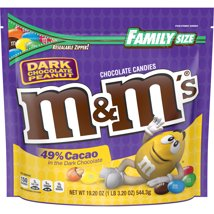 Chocolate Candies: M&M's Dark Chocolate Peanut