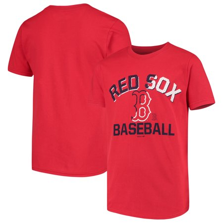 Boston Red Sox Youth Team Trainer T-Shirt - Red
