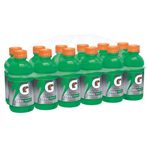 Gatorade G Series Fierce Green Apple Sports Drinks, 12 fl oz, 12 pack