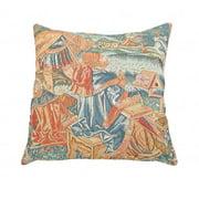Corona Dcor Corona Decor French Woven Country Design Decorative Throw Pillow