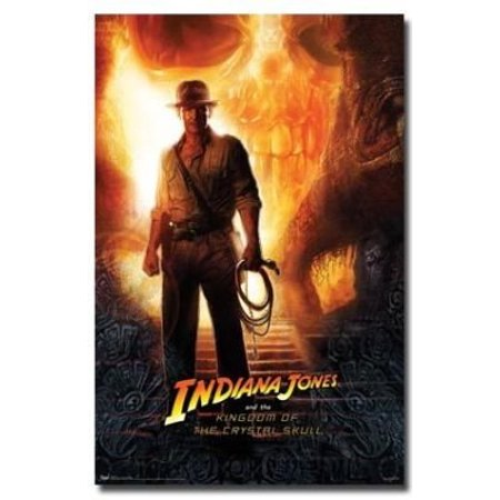 Indiana Jones Movie Poster Harrison Ford Teaser New 24X36