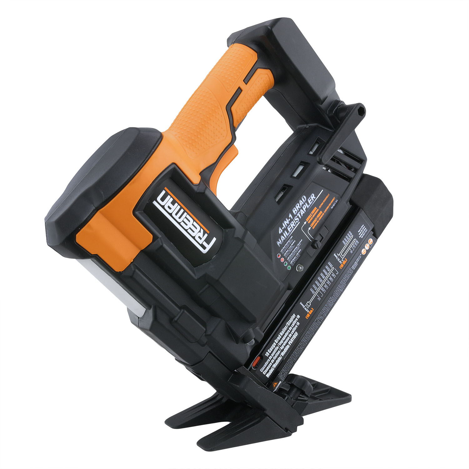 Freeman PE4118GF Cordless 20V 4-in-1 18 GA Flooring Nailer & Stapler