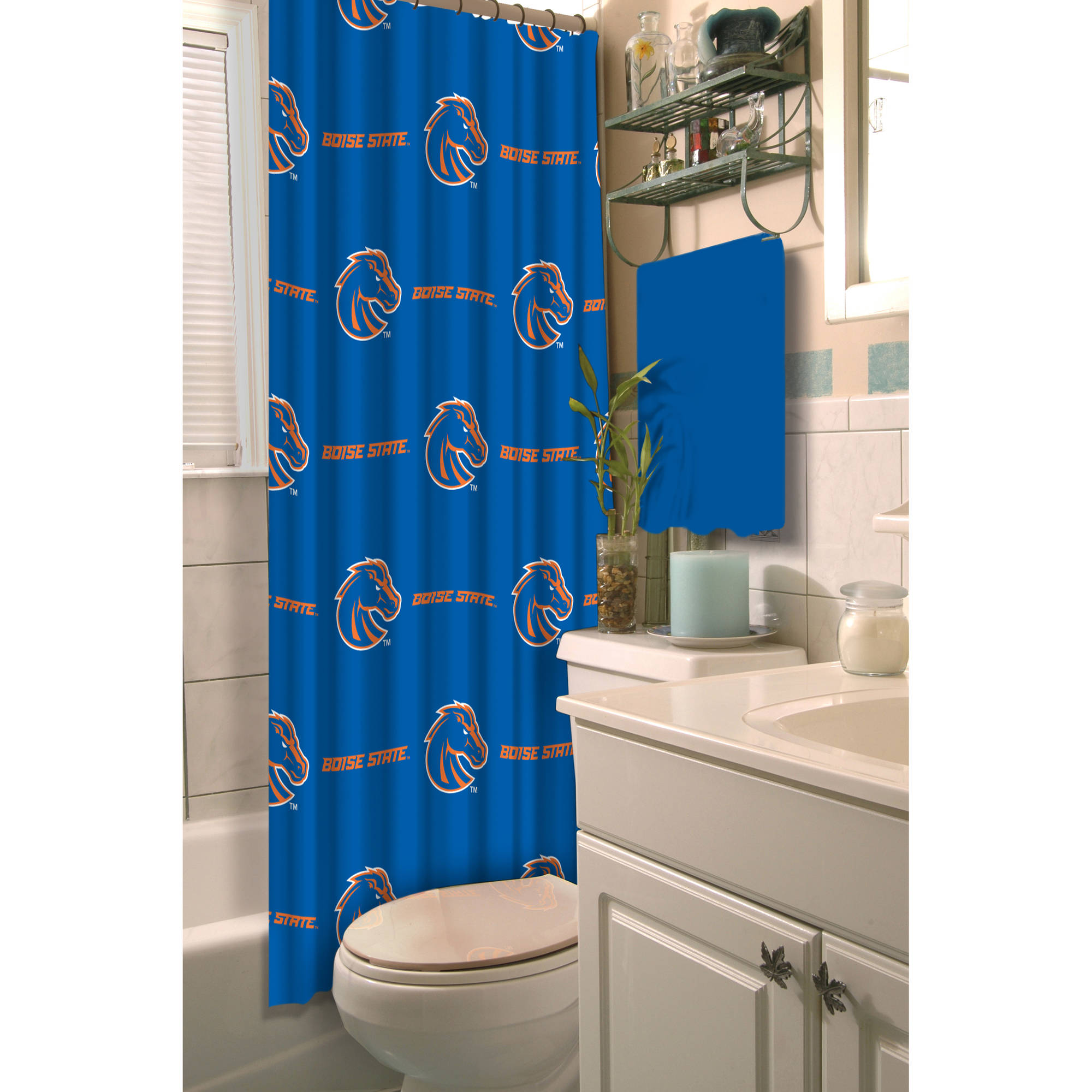 NCAA Shower Curtain, Boise State