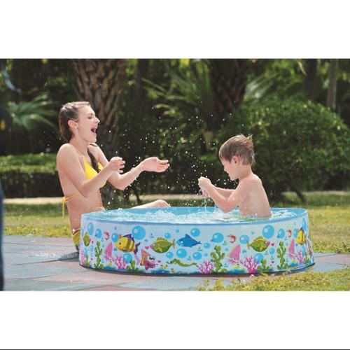 "59"" Aquatic Life Themed Rigid Portable Children's Swimming Pool by Pool Central"
