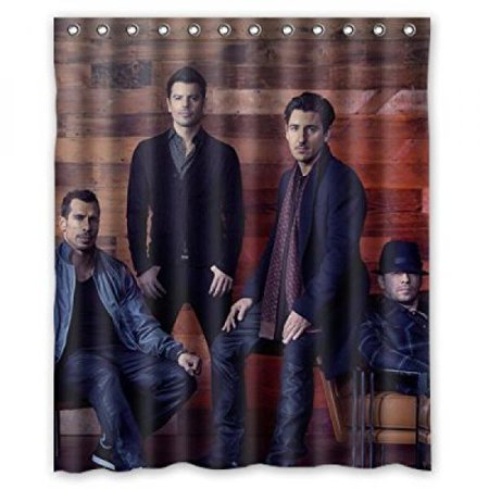 New Kids On The Block NKOTB Custom Shower Curtain 60 X 72 Bathroom Decor