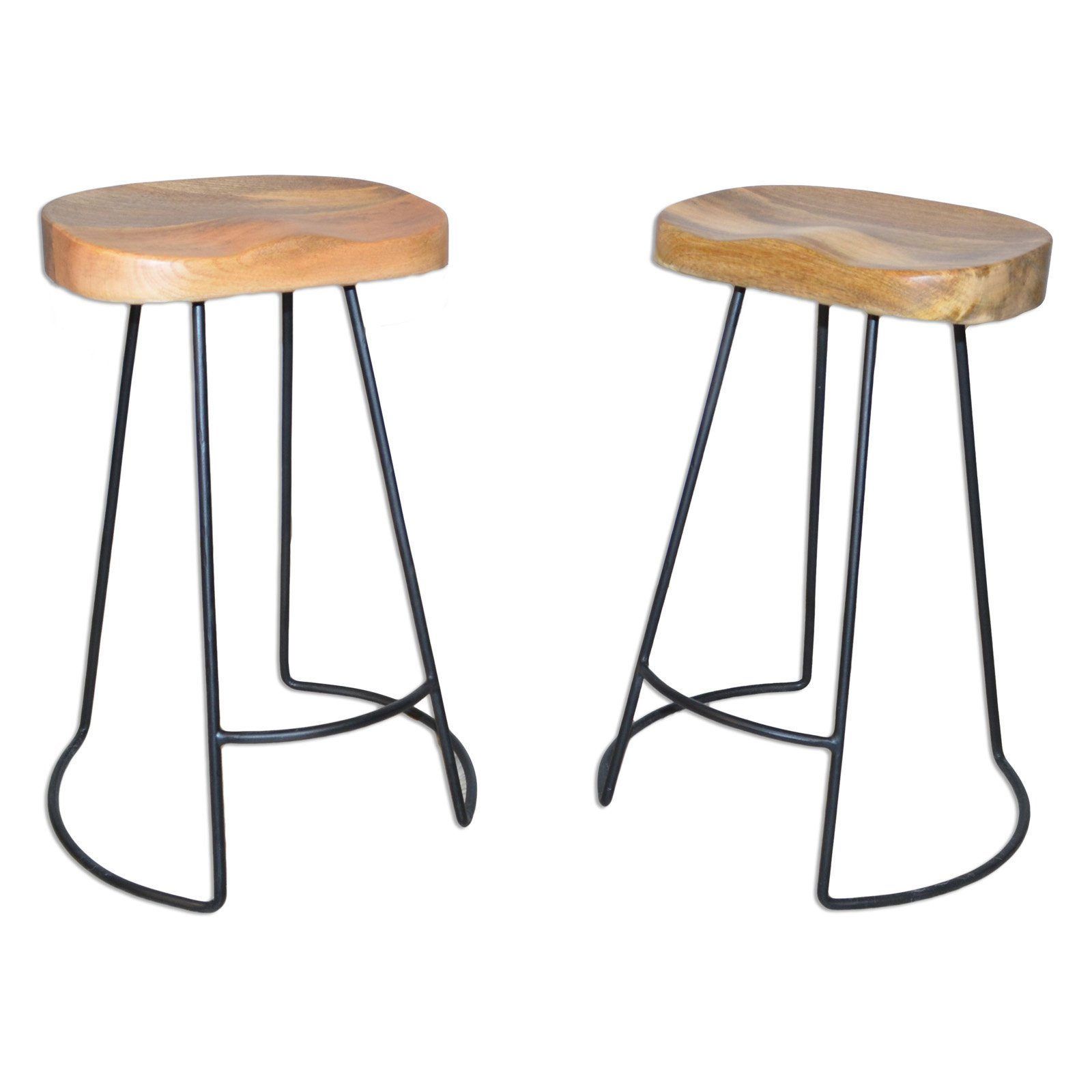 Carolina Chair And Table Sadie 25 In Backless Counter Stool