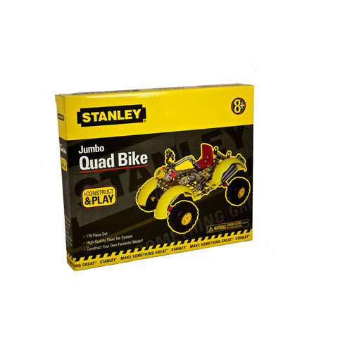 Stanley Tools Construct and Play Jumbo Quad Bike