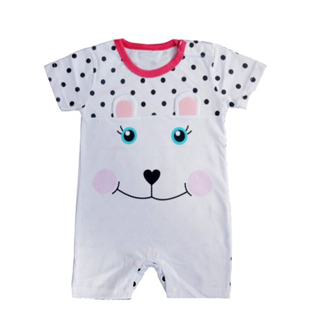 StylesILove Cute Animal Baby Toddler Girl Costume Jumpsuit (80/6-12 Months, Bunny - Mean Girls Halloween Bunny