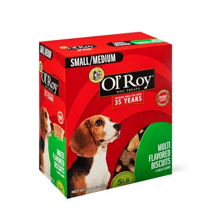 Ol' Roy Multi-Flavored Biscuits, Small/Medium, 5 lbs