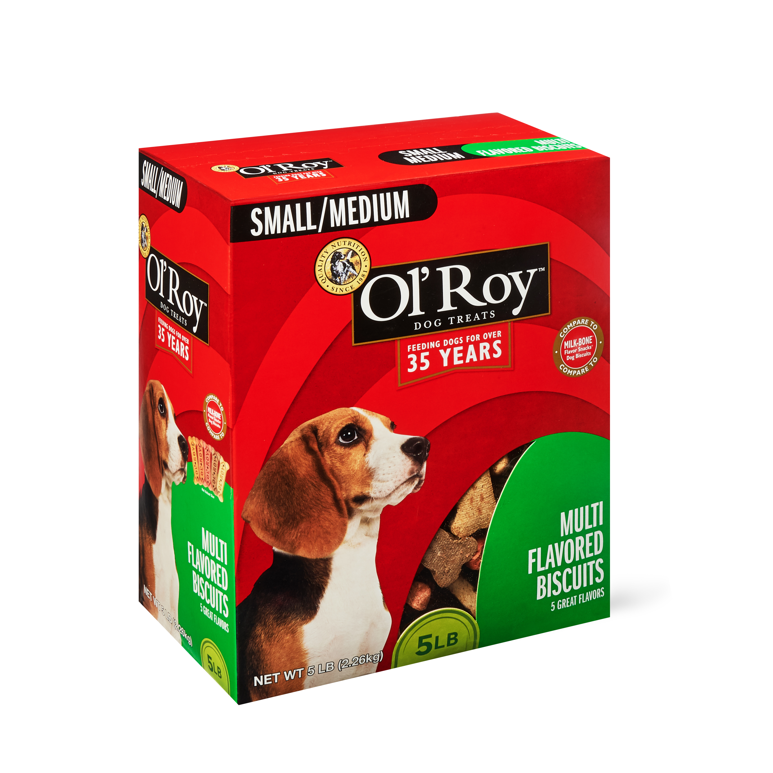 Ol' Roy Dog Biscuits, 5 lbs
