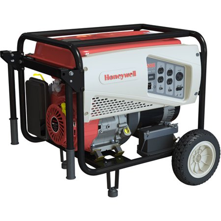 Honeywell 9 375 Watt Ohv Portable Gas Powered Generator With Electric Start