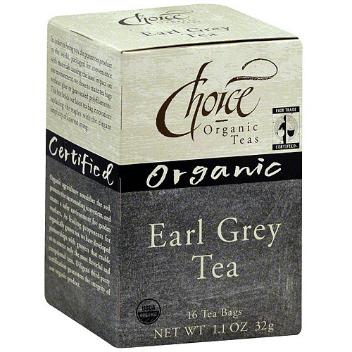 Generic Choice Organic Teas Organic Earl Grey Tea, 16bg (pack Of 6)