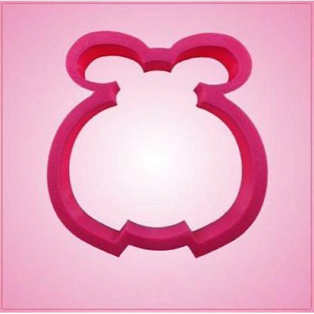 Cookie Cutter Basic - Pink Ladybug Basic Cookie Cutter