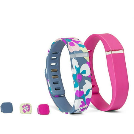 Fitbit Flex replacement bracelet Smart Buddie Fashion Activity Tracker Bands and Charger Combo Pack, Small