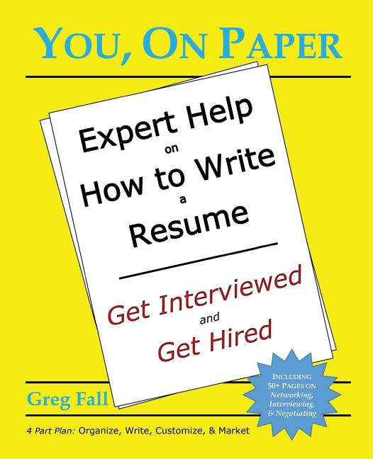 you  on paper  expert help on how to write a resume