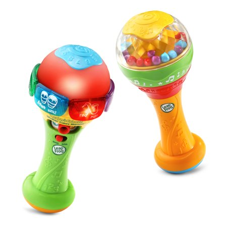 LeapFrog Learn and Groove Shakin' Colors Maracas, Bilingual Music Toy Leapfrog Learn Along Piano