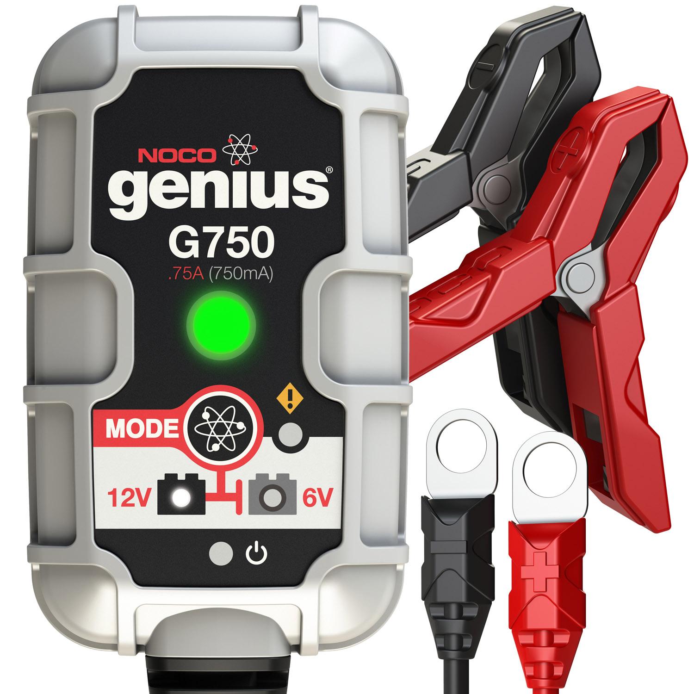 NOCO Genius G750 6V/12V .75 Amp UltraSafe Smart Battery Charge