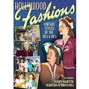 Hollywood Fashions: Vintage Styles Of The 30's by