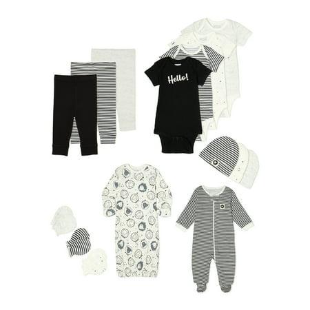 Garanimals Layette Baby Boy or Girl Gender Neutral Newborn Clothes Shower Gift Set, 15-Piece