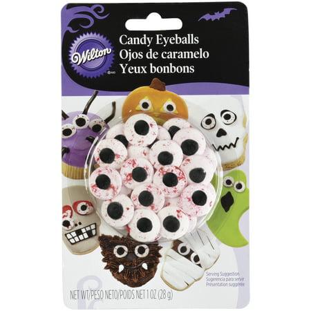 Wilton Bloody Candy Eyeballs, 1 - Halloween Eyeballs To Eat