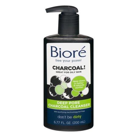Biore Deep Pore Charcoal Cleanser  6 77 Fl Oz