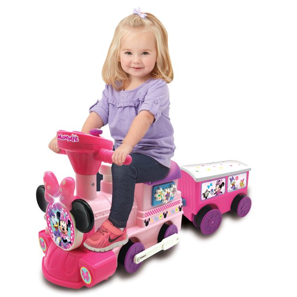 (29% OFF Deal) Disney Minnie Mouse 6-Volt Powered Train with Tracks $49.00