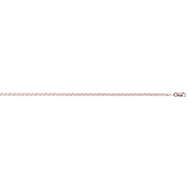 YGI FMC4003R-20 14k Rose Gold Cable Strip 050 Chain - 20 in. - image 1 de 1