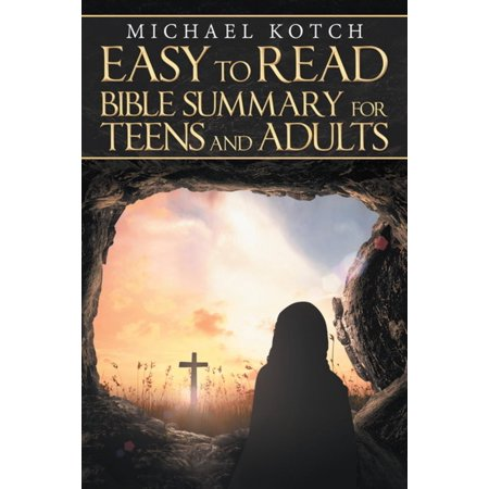 Easy to Read Bible Summary for Teens and Adults - eBook (Easy Teen)