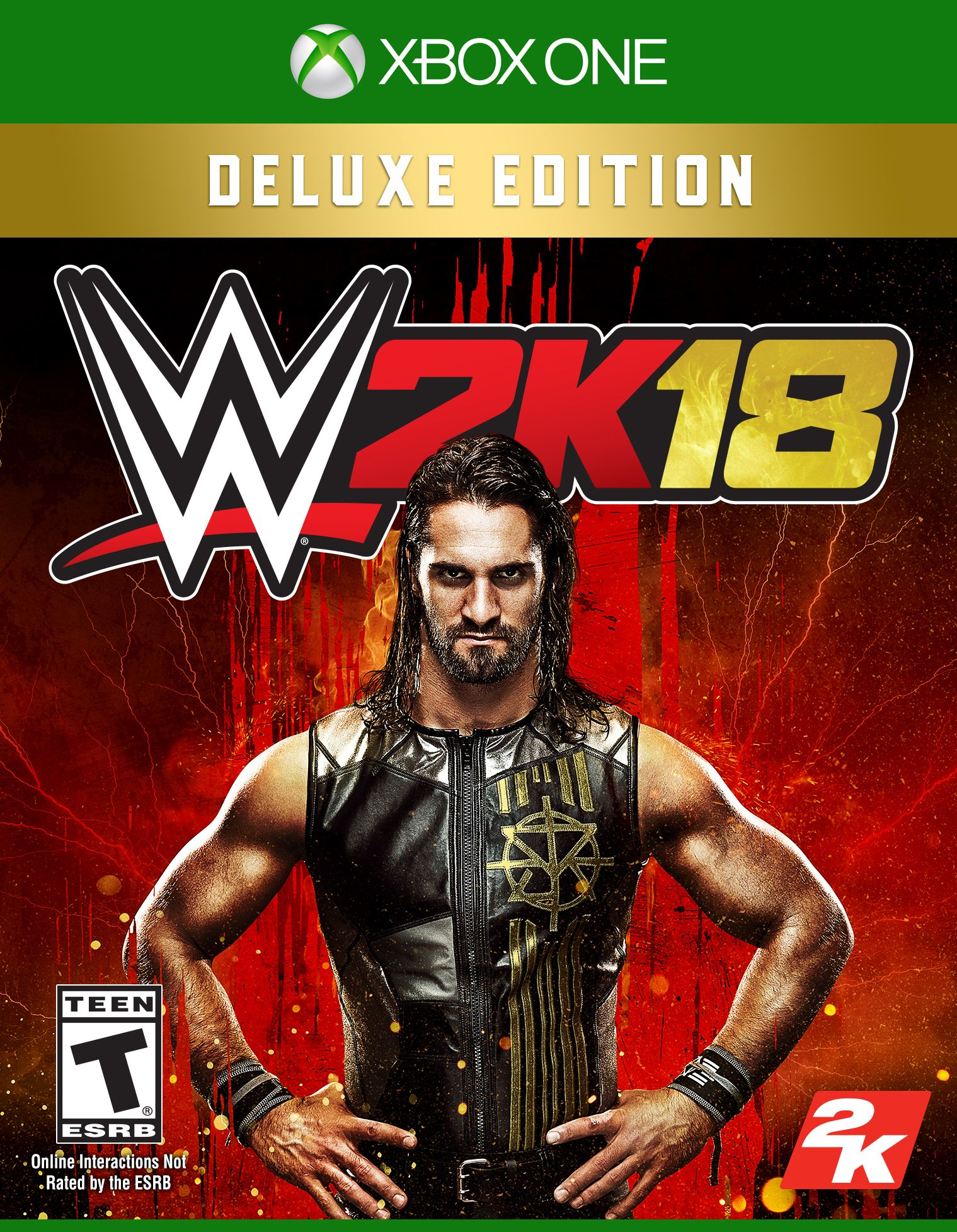 WWE 2K18 Deluxe Edition, 2K, Xbox One, 710425590061 by TAKE 2 INTERACTIVE