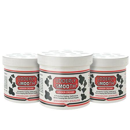 Vanilla Flower Body Cream - (3 Pack) Udderly Smooth Body Cream-12oz Jar