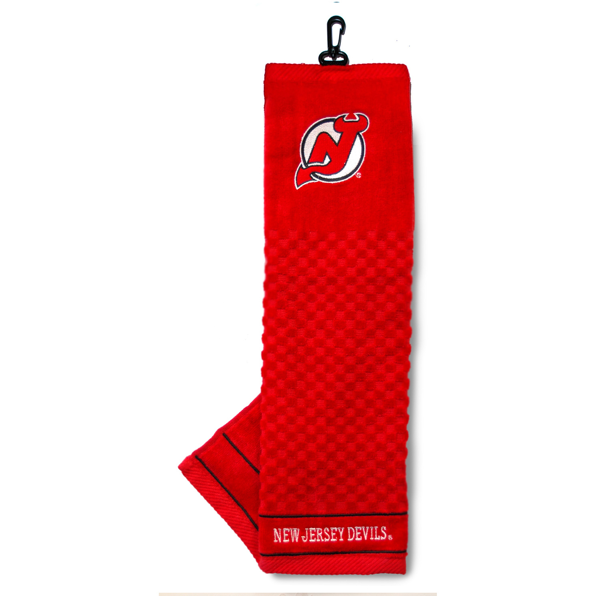 New Jersey Devils Embroidered Towel