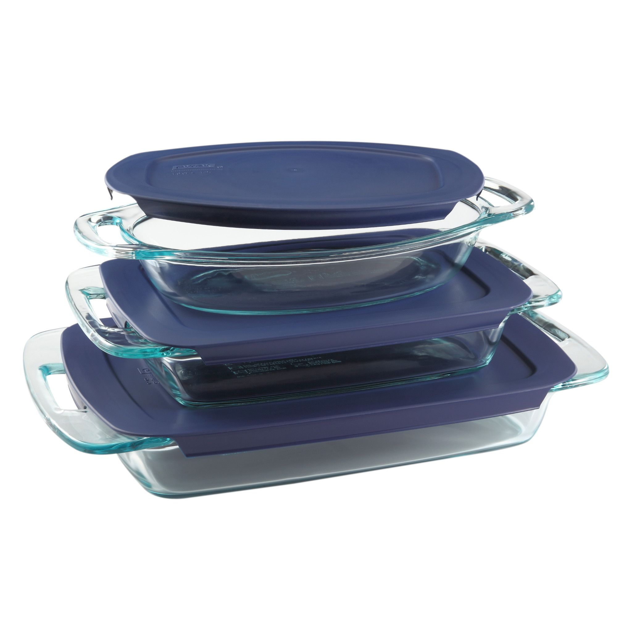 Pyrex 6pc Easy Grab Set