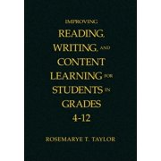 Improving Reading, Writing, and Content Learning for Students in Grades 4-12 (Hardcover)