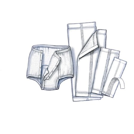 Handi-Care Incontinence Liner  17 Inch Length, Moderate Absorbency, Polymer, Unisex, Reusable, Bag of 20