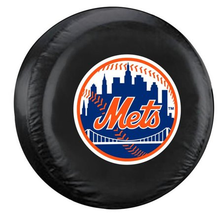 New York Mets Tire Cover Standard Size Black - image 1 of 1