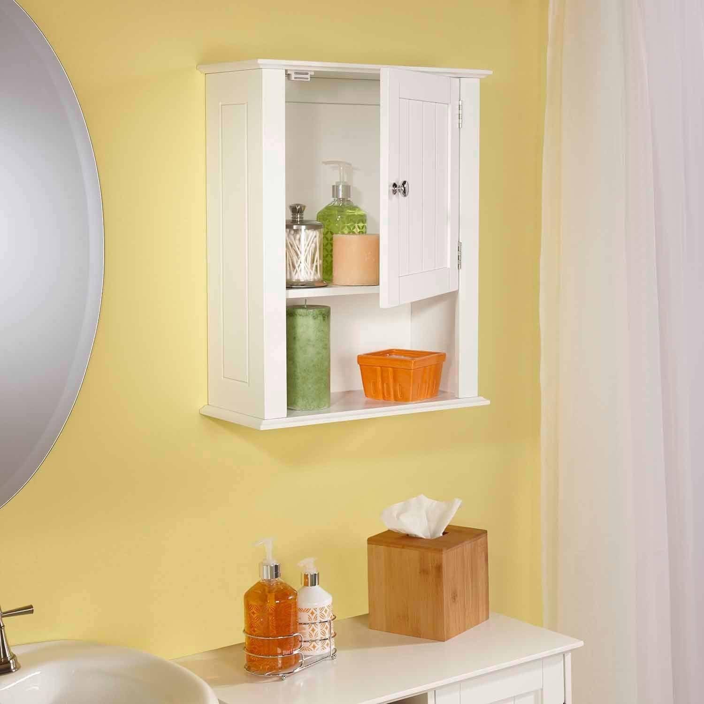 RiverRidge Ashland Collection Single Door Wall Cabinet - Walmart.com