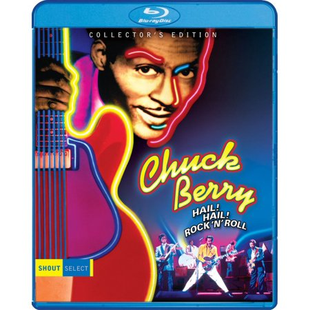 Chuck Berry Hail! Hail! Rock 'N' Roll (Blu-Ray) Chuck Taylor Flame