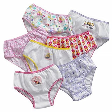 Little Girl From Despicable Me (Despicable Me Little Girls' Minions 7 Pack Underwear Panties)
