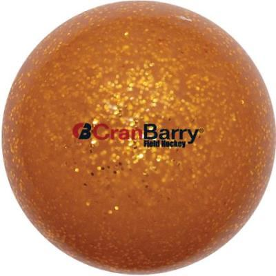 CranBarry Glitter Practice Field Hockey Ball, Gold