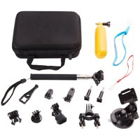 Onn 16-Piece Action Camera Accessory Kit
