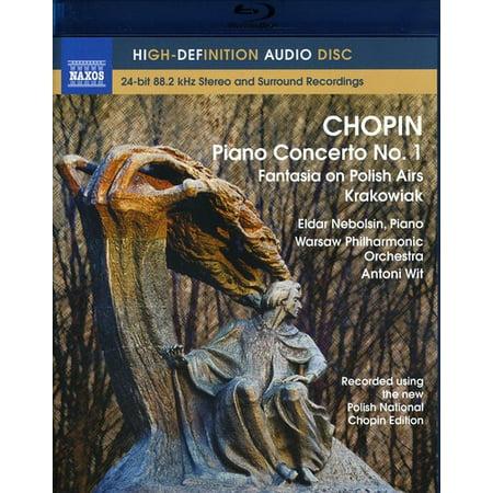 F. Chopin - Chopin: Piano Concerto No. 1; Fantasia on Polish Airs; Krakowiak [BLU-RAY]
