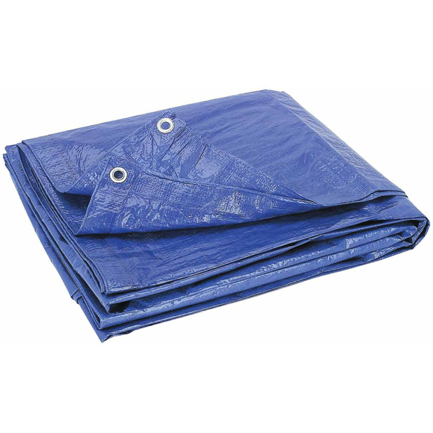 Howard Berger V1216 Reinforced Plastic Tarp, 12' x 16'