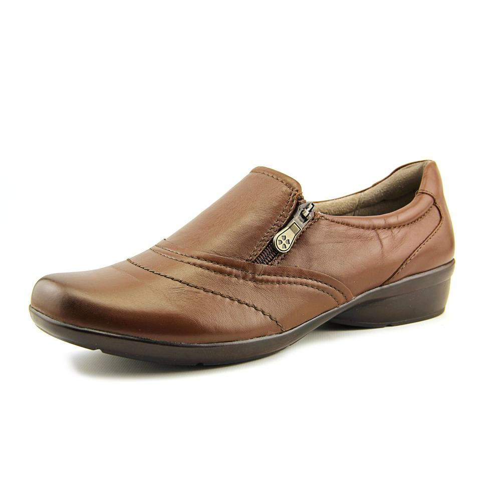 Naturalizer Clarissa N S Round Toe Leather Loafer by Naturalizer