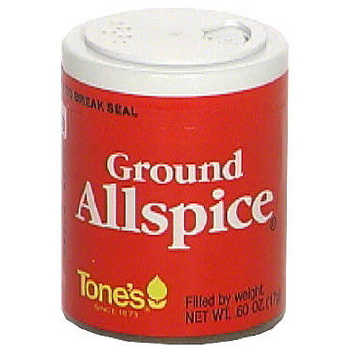 Tones Ground Allspice, .60 oz (Pack of 6)