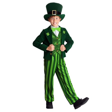 Child Leprechaun Costume - St Patrick Day Costumes