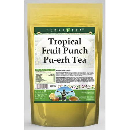 Tropical Fruit Punch Pu-erh Tea (25 tea bags, ZIN: 531370) (Halloween Fruit Punch Recipe)