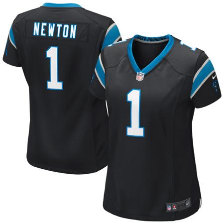 6f685d9c Cam Newton Carolina Panthers Nike Girls Youth Game Jersey - Black -  Walmart.com
