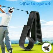 AUTCARIBLE Golf Accessories Car Boat Golf Cigar Holder Golf Handle Clip Tail Clamp Golf Club Golf Equipment