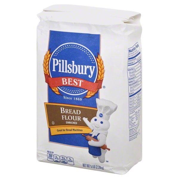 Dollhouse Miniature Modern 5 Pound Flour Bag